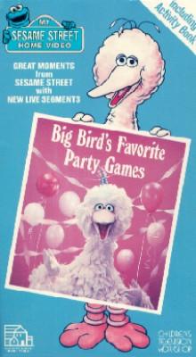 Sesame Street: Big Bird's Favorite Party Games