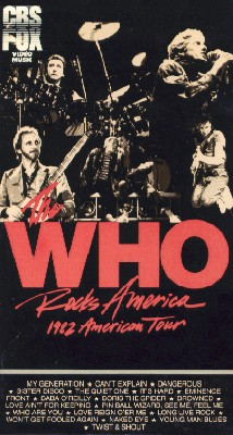 The Who: The Who Rocks America