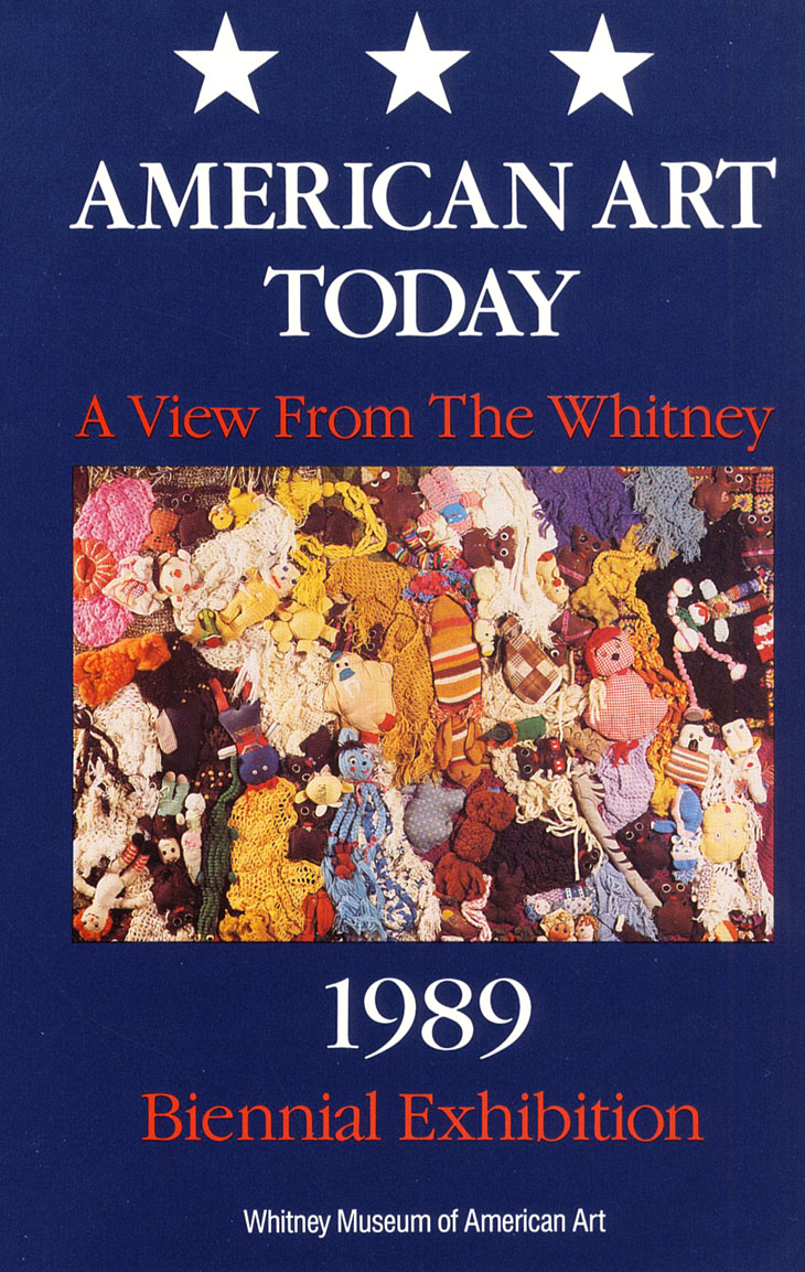American Art Today: A View from the Whitney - 1989 Biennial Exhibition