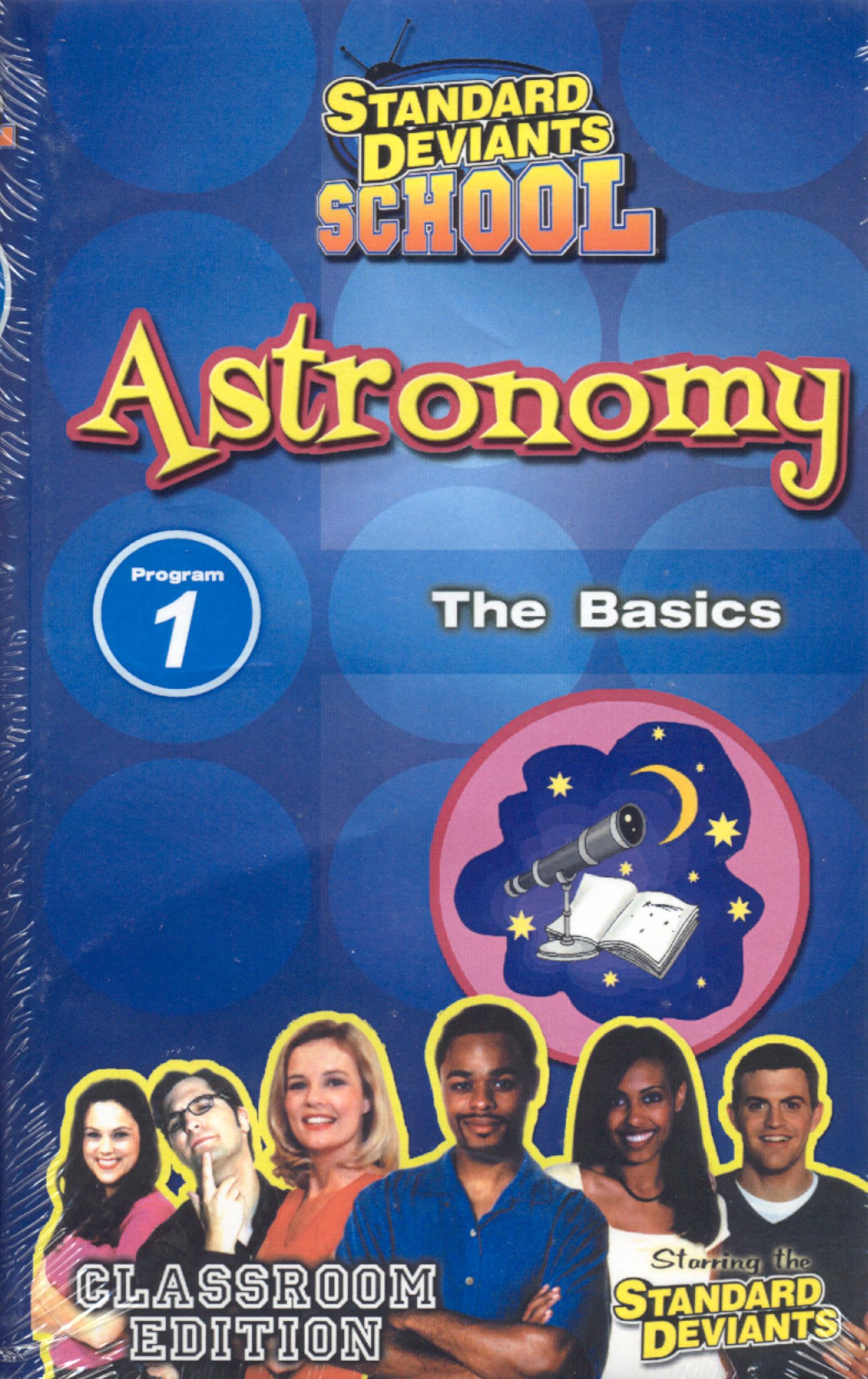 Standard Deviants School: Astronomy, Program 1 - The Basics
