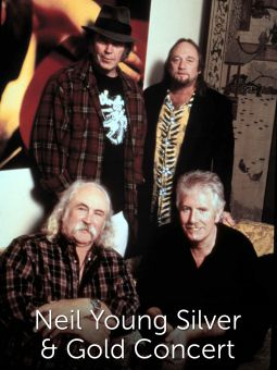 Neil Young Silver & Gold Concert