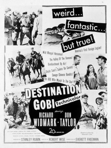Destination Gobi (1953) - Robert Wise   Synopsis, Characteristics