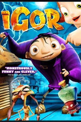 Igor 2008 tony leondis cast and crew allmovie for Igor movie watch online