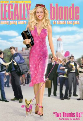 Soundtrack from legally blond movie
