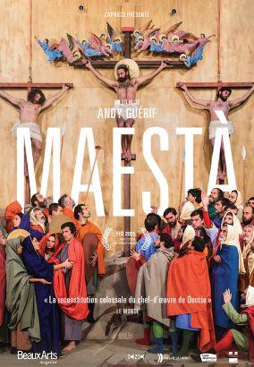 Maesta, La passion du Christ