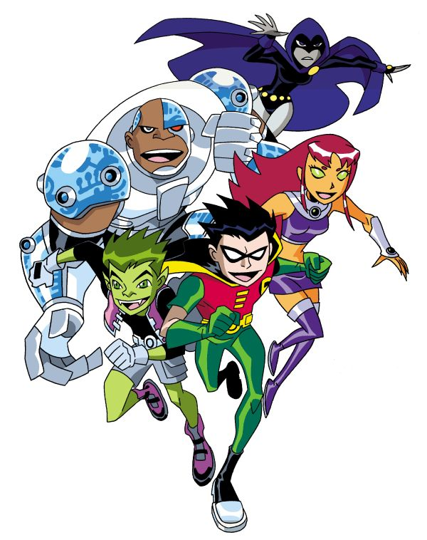 Adventure Series Teen Titans Features 103