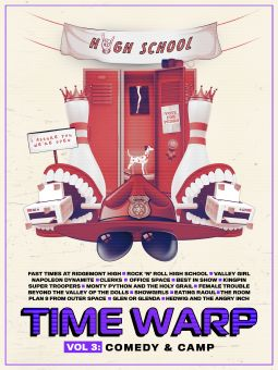 Time Warp: The Greatest Cult Films of All-Time Volume 3: Comedy and Camp
