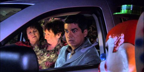 George Lopez : George Drives The Batmobile