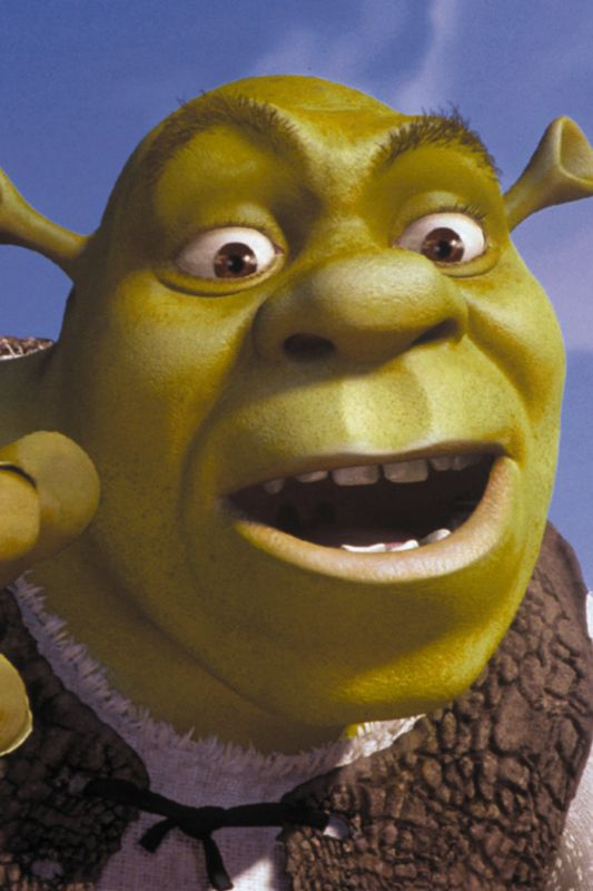 characteristics of shrek Characteristics edit appearance edit shrek is an overweight green ogre with brown eyes he wears a white, stained, long-sleeved shirt with a brown vest over it.