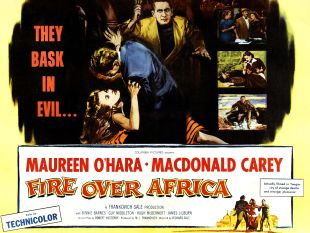 Fire over Africa