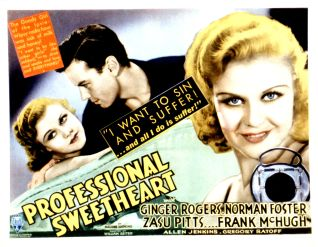 Professional Sweetheart (1933)