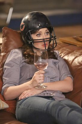 New Girl: Helmet