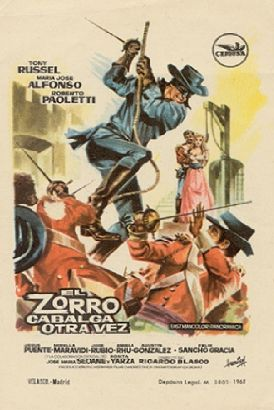 Behind the Mask of Zorro