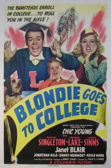 Blondie Goes to College