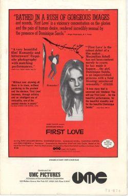 Erste Liebe