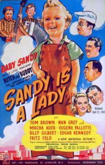 Sandy Is a Lady
