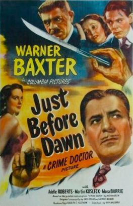 Just Before Dawn (1946)