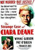Case of Clara Deane