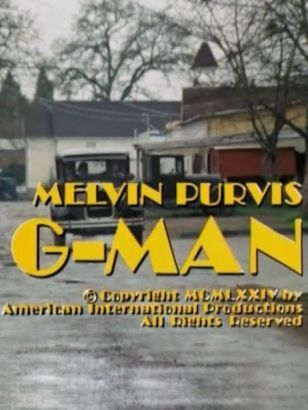 The Melvin Purvis: G-Man