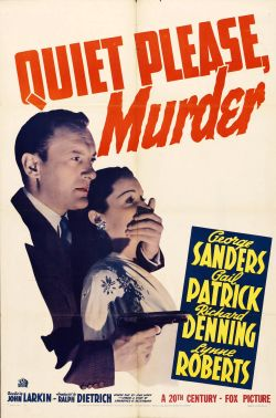 Quiet Please, Murder