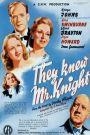They Knew Mr. Knight