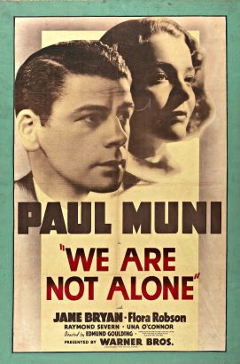 We Are Not Alone (1939)