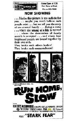 Run Home Slow