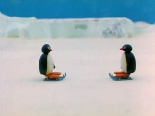 Pingu: Pingu's First Kiss