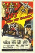 Jet over the Atlantic