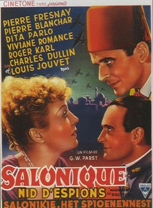Salonique Nid D'Espions