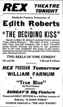 The Deciding Kiss