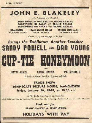 Cup-Tie Honeymoon