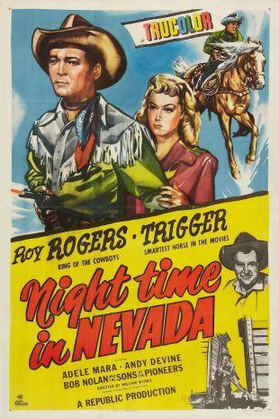 Night Time in Nevada
