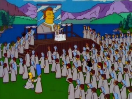 The Simpsons : The Joy of Sect