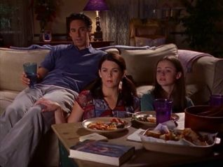Gilmore Girls: Red Light on the Wedding Night