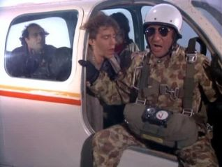 Taxi: Alex Jumps Out of an Airplane
