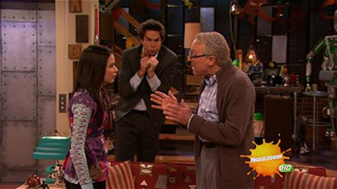 iCarly : iWanna Stay With Spencer