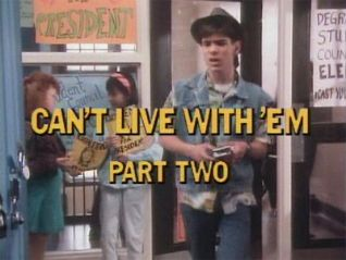 Degrassi Junior High: Can't Live With 'Em, Part 2