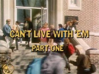 Degrassi Junior High: Can't Live With 'Em, Part 1