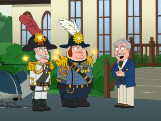 Family Guy: No Country Club for Old Men
