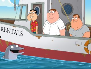 Family Guy: Be Careful What You Fish For