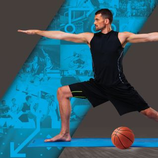 Athletic Yoga: Yoga for Flexibility with Kevin Love
