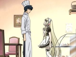 Chobits: Chi Wears and Takes Off