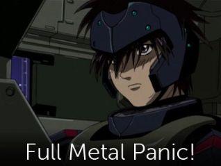 Full Metal Panic! [Anime Series]