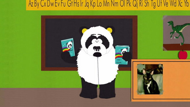 Sexual harassment panda theme