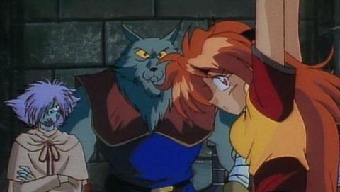 Slayers : Escape! Noonsa, the Flaming Fish Man!