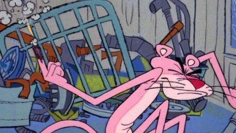 The Pink Panther Show : Put-Put Pink