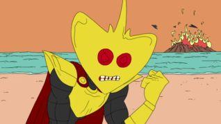Superjail!: Lord Stingray Crash Party