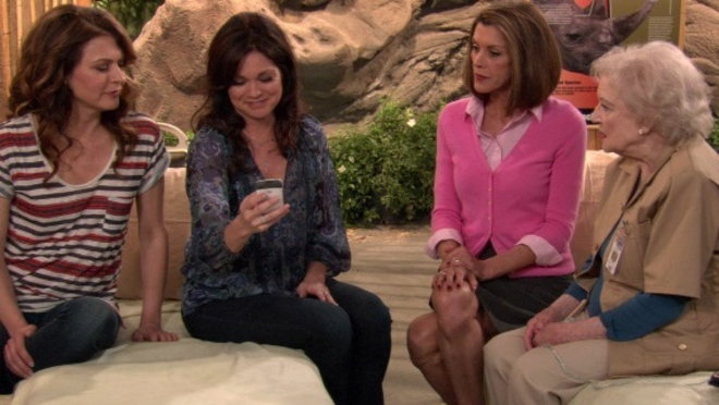 Hot in Cleveland: Two Girls and a Rhino