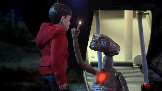 Robot Chicken: Hurtled from a Helicopter into a Speeding Train